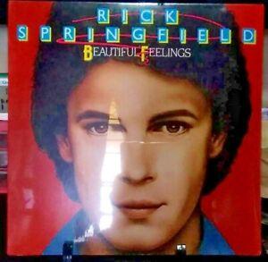 RICK SPRINGFIELD Beautiful Feelings Album Released 1984 Vinyl Collection USA NEW