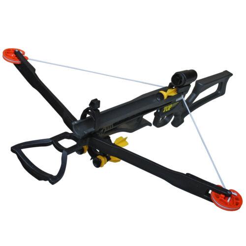 Crossbow Kinderarmbrust-Set inkl Pfeilhalter 5 Saugnapfpfeilen und Zielscheibe