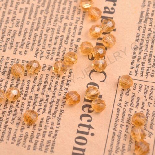 Al por mayor 40 Colores de cristal checo facetado rondelle suelta perlas 3-10MM envío gratis