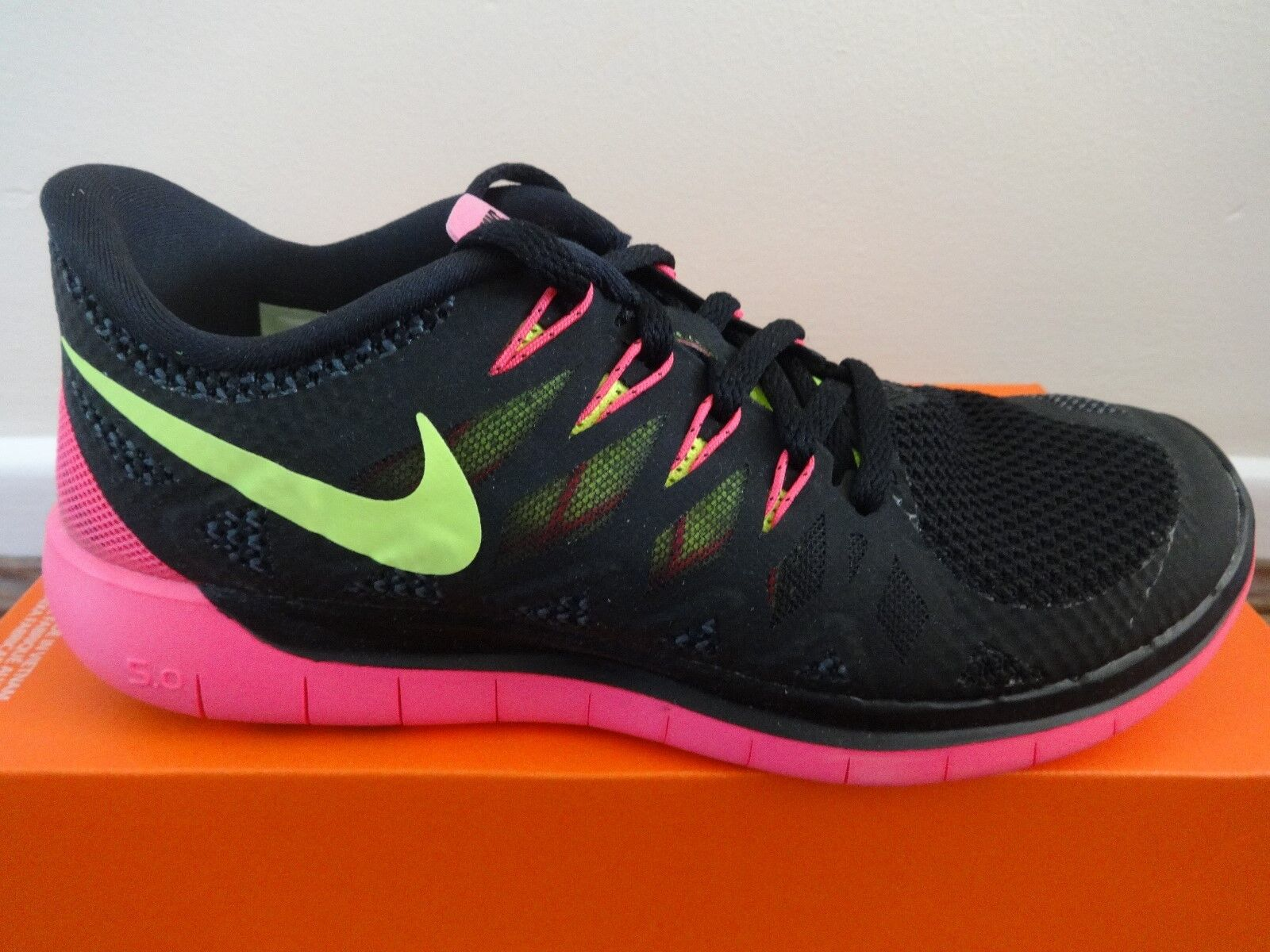 Nike Free shoes 5.0 womens trainers sneakers shoes Free 642199 002 uk 4.5 eu 38 us 7 NEW e8f58e