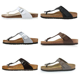 Birkenstock-Gizeh-Birko-flor-Thong-Flip-Flops-Sandals-Mens-Womens-Unisex-Shoes