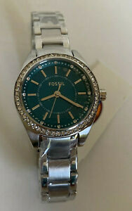FOSSIL-GREEN-DIAL-SILVER-TONE-CRYSTALS-PAVE-ACCENT-BRACELET-WATCH-BQ1551-105