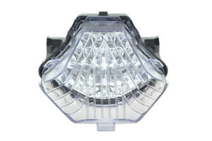 Clear Led Brake Tail Light Turn Signal For Yamaha 1417 FZ07MT07 15