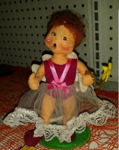 "Annalee-7/"" Good Fairy 2000 missing Pumpkin bucket"