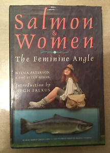 Salmon & Women The Feminine Angle Book By Wilma Paterson Prof Peter Behan 1st