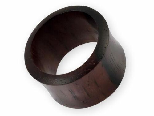 Túnel Dilatación Madera Ébano Raro Plug Piercing Orgánico