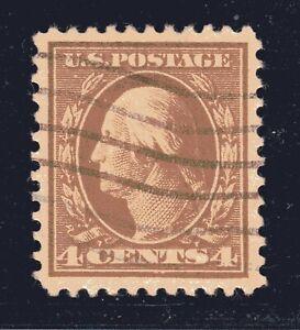 ESTADOS-UNIDOS-Sello-503-4c-Washington-Franklin-Definitivo-1917-Usado