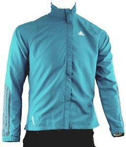 Details zu Adidas Damen Leichte Jacke Sport Laufjacke Windjacke Türkis Lila Gr. 363840