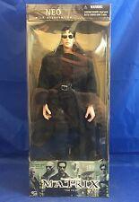 "Matrix Neo 12"" 1:6 figure MIB + accessories N2 Toys 2000 1st Film Trenchcoat"