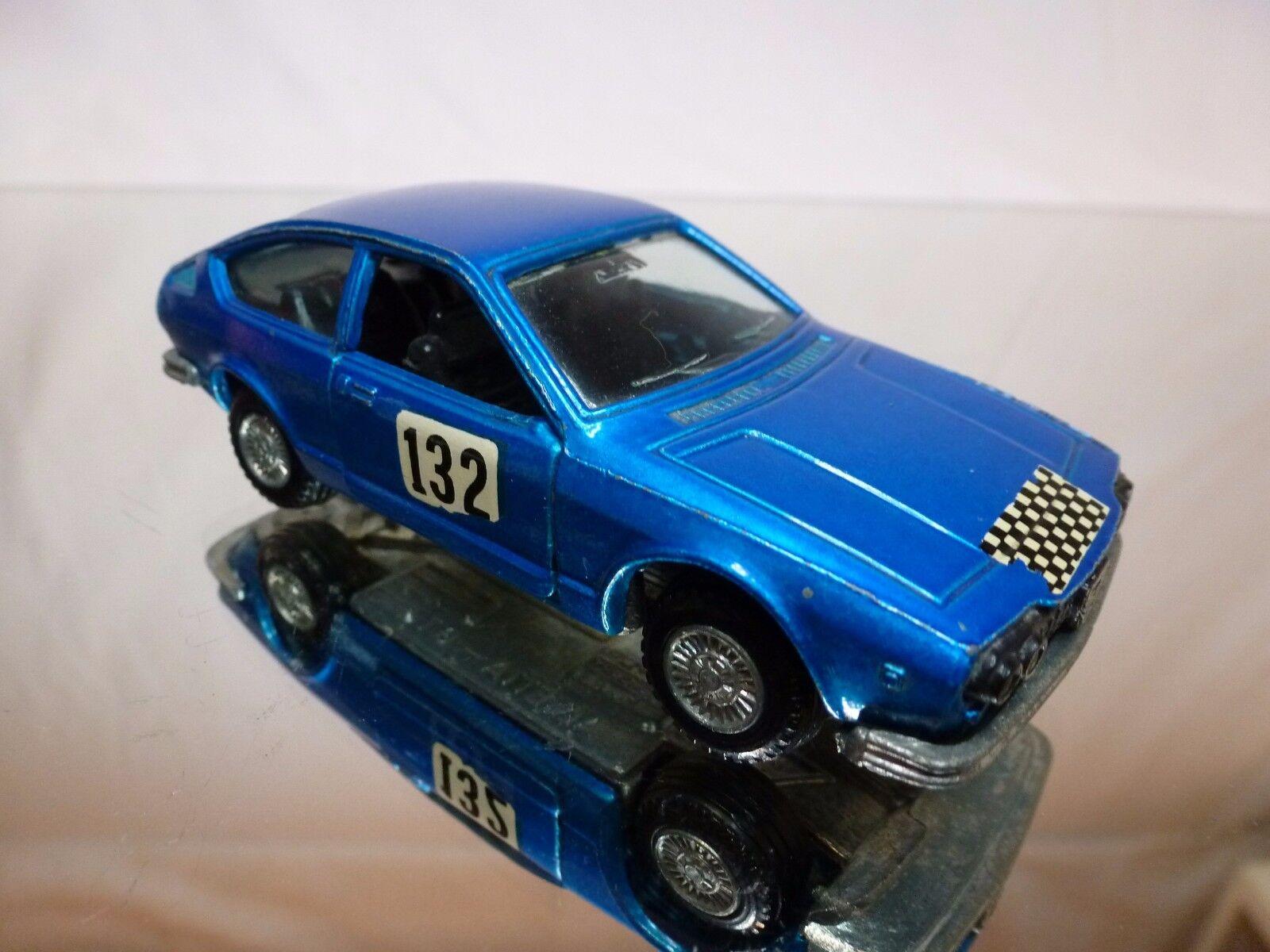 MERCURY 306 ALFA ROMEO ROMEO ROMEO ALFETTA GT RALLY  132 - azul METALLIC 1 43 - GOOD COND. a67814