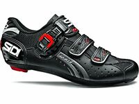 Sidi Genius Fit Men's Shoes Black, 38 - Men's Road Touring Racing on Sale