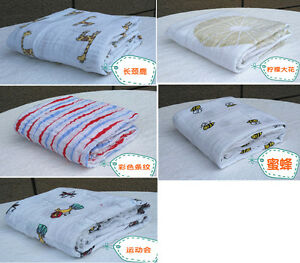 US Stock Infant Baby Kids Swaddle Blanket 120*120cm Baby Sleeping Swaddle Pack