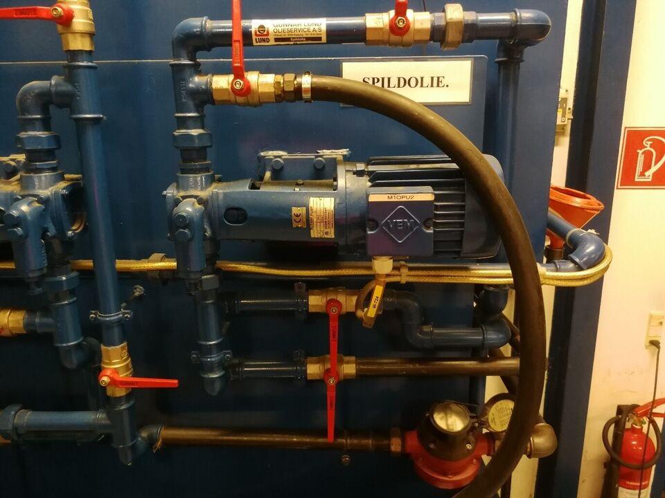 Tank olie / diesel