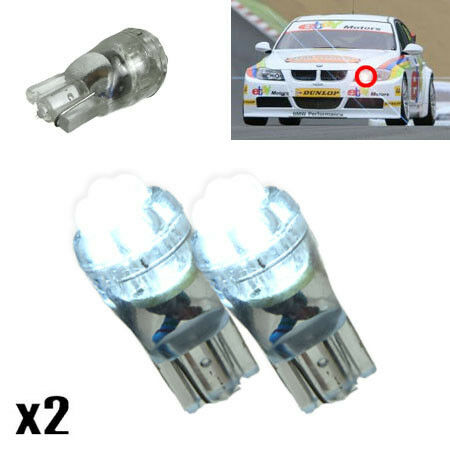 Peugeot 206 1.1 501 W5W 4-LED Xenon White Side Lights Bright Upgrade Bulbs XE8