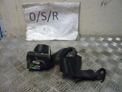 VAUXHALL CORSA C 1.2 16V 2003 3DR NSR PASSENGER SIDE REAR SEATBELT 13128804N