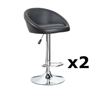 Pleasant Details About 2 X Black Chrome Bar Stool Swivel Venus Breakfast Kitchen Barstool X2 T313G Beatyapartments Chair Design Images Beatyapartmentscom