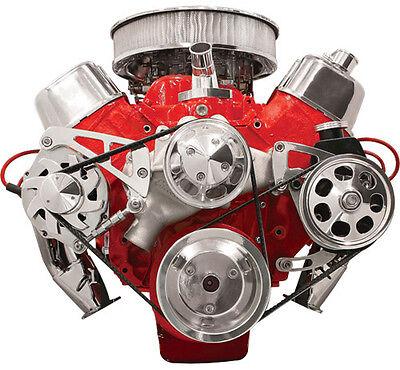 BILLET SPECIALTIES CHEVY FRONT ENGINE SERPENTINE CONVERSION KIT,BBC,MID,FM2222PC