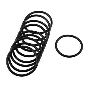 10-pcs-Black-Rubber-Oil-Seal-O-rings-Seals-washers-35-x-30-x-2-5mm-T5E4