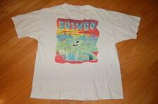 Vintage Original OINGO BOINGO Alive 1989 Concert New Wave DANNY ELFMAN Tshirt L