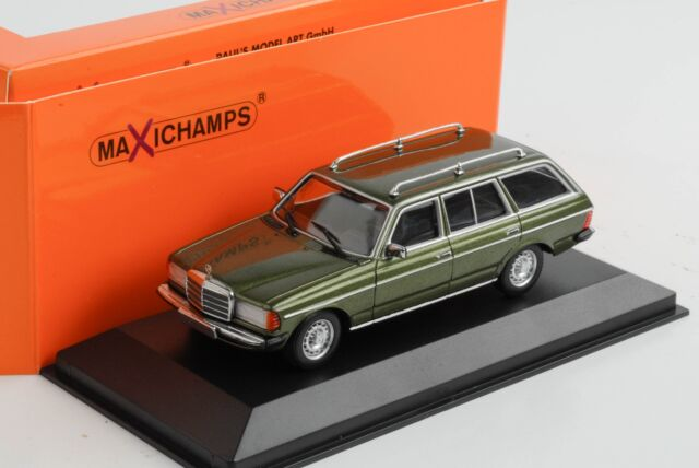 Mercedes-Benz 230 Te W123 Estate Green Metallic Diecast 1:43 Minichamps