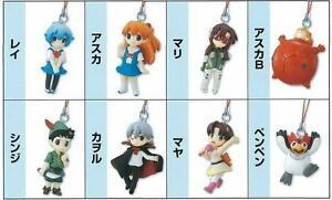 Bandai Evangelion Eva 2 OVA Petit School Phone Strap Mascot Mini Figure