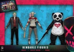 Suicide Squad Set Joker Figures, Harley Quinn, nouveau magasin Panda de 14 cm !!!