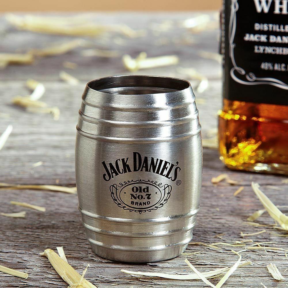 Jack Daniels 2oz Frosted Shot Glass