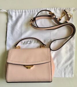 38f8bf8e94 Image is loading Michael-Michael-Kors-Ava-Extra-Small-Leather-Crossbody-