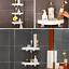 V-CORNER™ STORAGE HOLDER SHELVES Handyman™ Max Suction Corner Shelf