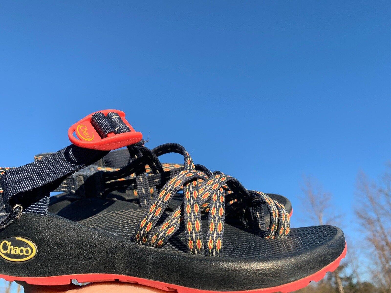CHACO ZX 1 Classic Sport Criss Cross Straps Clog Clog Clog Sandals donna scarpe Sz 6 b10 b32943