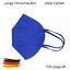 Indexbild 26 - ✅5 Stk FFP2 Maske Bunt Farbig 5-Lagig Atemschutz DEUTSCHER HÄNDLER ✅ TÜV ✅ CE ✅