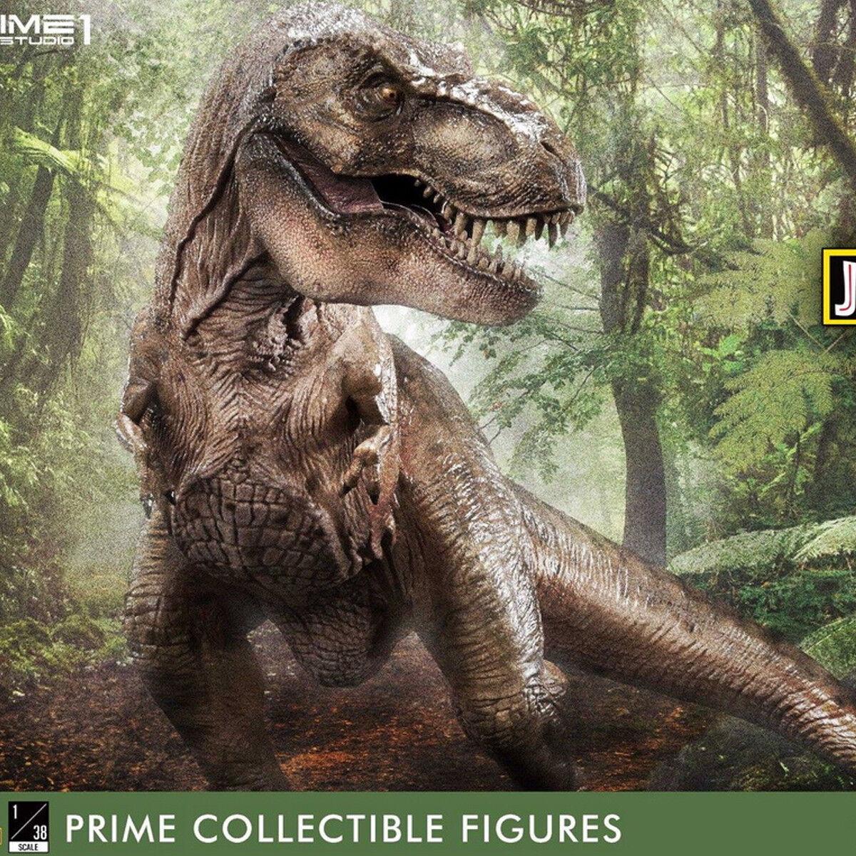 Prime 1 Studio 1/38 PCFJP-01 / 02 Jurassic Park Tyrannosaurus Rex & Triceratops