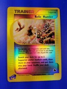Relic-Hunter-120-144-Skyridge-Set-REVERSE-HOLO-Pokemon-Card-NEAR-MINT