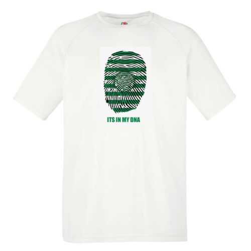 """CELTIC FC INSPIRED /""""IN MY DNA/"""" T-SHIRT MENS"""