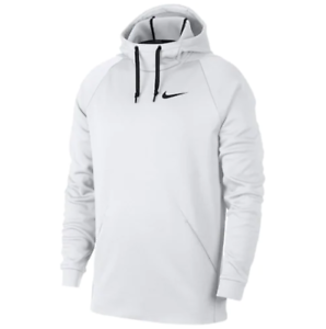 NWT Men's Nike Therma Pull Over Hoodie Choose Size White