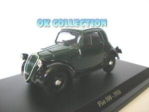 1:43 modellino FIAT 500-1936 /_ 26
