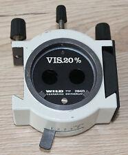 Wild OPMI OP Mikroskop Microscope Beamsplitter Strahlenteiler VIS.20% (319423)