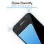 miniature 2 - amFilm Samsung Galaxy S7 Full Cover Tempered Glass Screen Protector (Black)