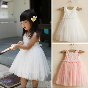 Baby-Girl-Kid-Summer-Clothes-Princess-Dresses-Party-Tutu-Top-Outfit-Clothing-Set