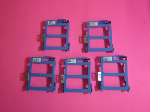 "LOT OF 5 GENUINE Dell Optiplex 3030 Inspiron 20-3048 2.5/"" Hard Drive Caddy RC3D5"