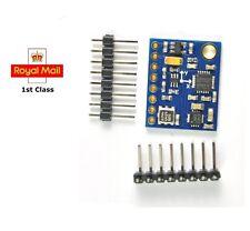 Gy-87 10dof Gyro acelerómetro Brújula barométrica Sensor Hmc5883l Mpu6050 Bmp180