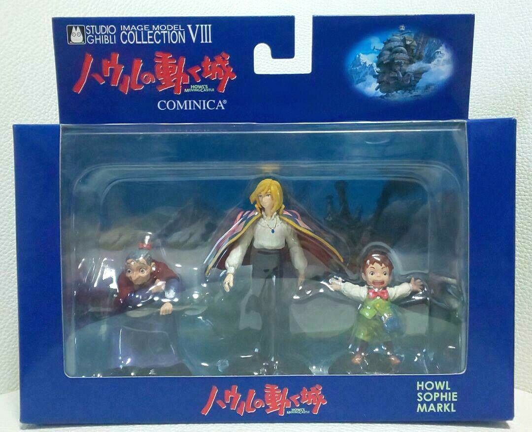 RARE Studio Ghibli Howl/'s Moving Castle Cominica Figure Box Howl Sophie Markl