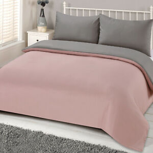 Brentfords-Reversible-Blush-Grey-Duvet-Cover-with-Pillowcase-Pink-Bedding-Set