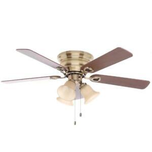Clarkston Antique Brass 44 In Ceiling Fan Parts 822744 Ebay