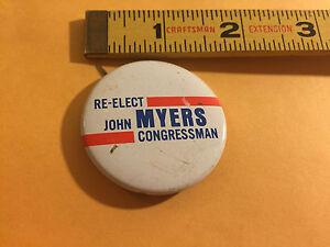 Vintage-Re-Elect-John-Myers-Congressman-Political-Pin-Button