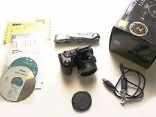 BLACK Nikon COOLPIX L120 14.1 MP 21X Optical Len Original Parts Prefect Like New