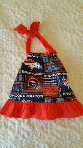 Football Denver Broncos Baby Dress