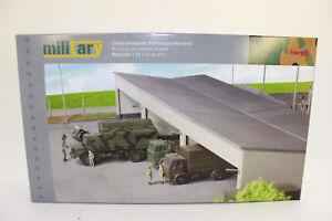 Herpa-745499-Kit-de-Construccion-Vehiculo-Refugio-sala-para-Camion-1-87-H0
