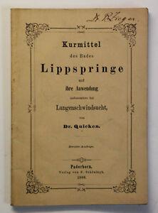 Original-Prospekt-Kurmittel-des-Bades-Lippspringe-1868-NRW-Teutoburger-Wald-xz