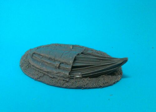 1st Corps 28mm WW2 British Paratroop Collapsed parachute.